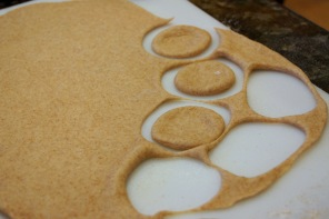 Grandma's Cinnamon Wreath|dough circles|theallyreneeblog.wordpress.com